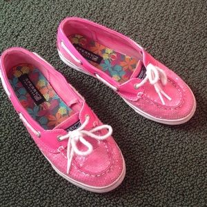 Sperry Top-Sider Shoes - Pink sparkly sperries