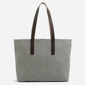 Everlane Twill Zip Tote, reverse denim, sold out