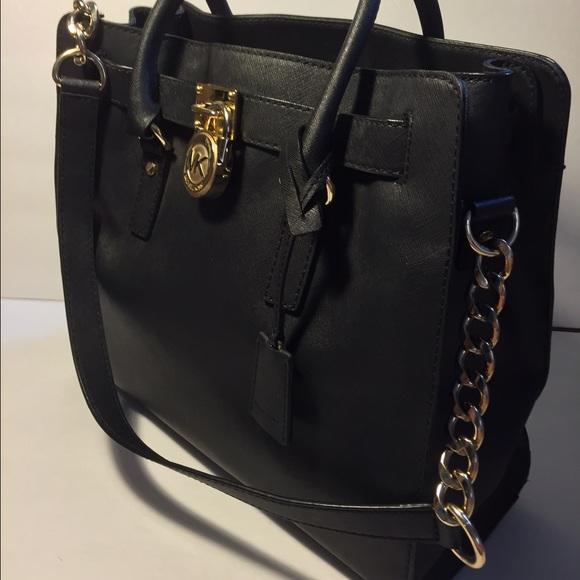e36b74b79798 💝Michael Kors Large Hamilton Saffiano Leather. M 54e2556a2599fe166902404e