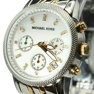 Michael Kors Watch- Two- toned- Authentic