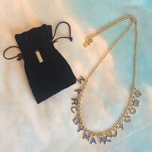 Marc by Marc Jacobs Accessories - Marc by Marc Jacobs blue and gold necklace