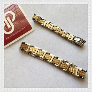Jewelry - HIS & HERS TWO TONE BRACELETS