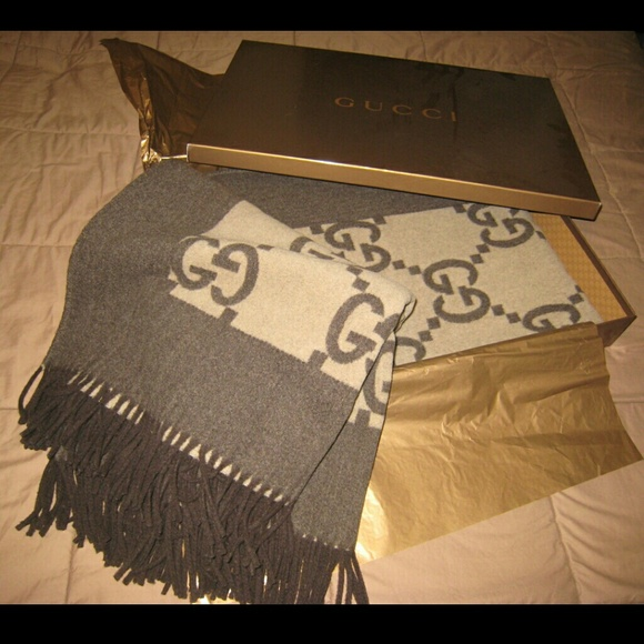2f2a1f89832 54 Off Gucci Other Authentic Blanket Throw From Anna 39 S. Gucci Blanket  Fake Crochet Ideas 2019 ...