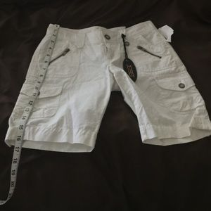 Other - White long shorts BRAND NEW