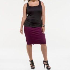 83 kiyonna dresses skirts plus size stretch twill