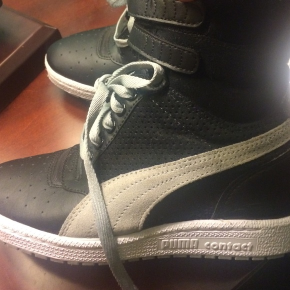 hot-selling cheap search for official aliexpress Puma contact wedge sneakers👟👞💙