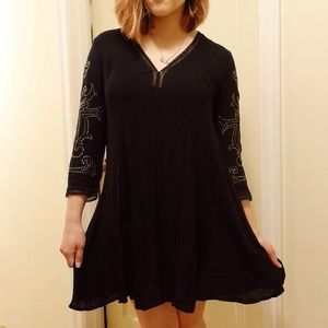 New Urban Outfitters Black Dress