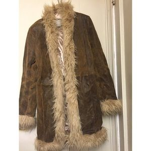 Wilson leather jacket fur lined