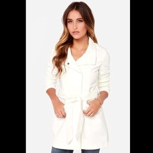 Jack by BB Dakota Outerwear - Jack by BB Dakota Cecil Ivory Coat