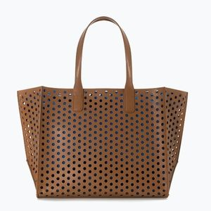 Beautiful Large Perforated Shopper Bag!!!...
