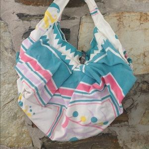 Handbags - One-of-a-kind Handmade pastel pattern spoon close