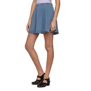 Cotton On - Cotton On grey blue denim like skirt from Elizabeth's ...