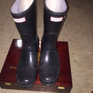 Hunter boots short size 8 (READ DESCRIPTION!)