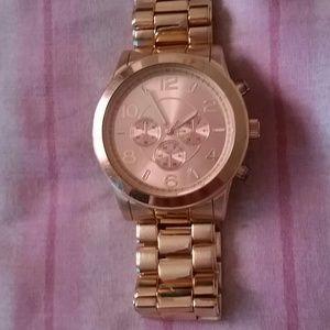 Aldo gold rose watch