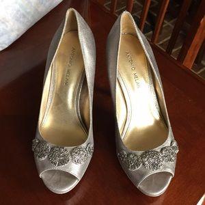 39950159ce3 ANTONIO MELANI Shoes - Silver Antonio melani heels