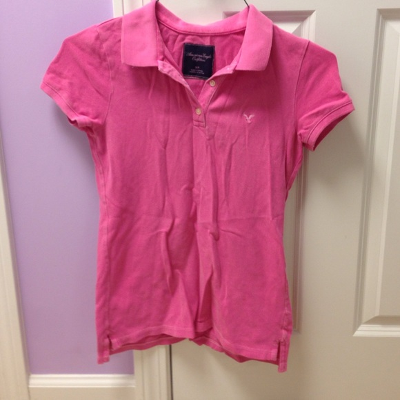 American Eagle Outfitters Pink Polo From Innactive 39 S