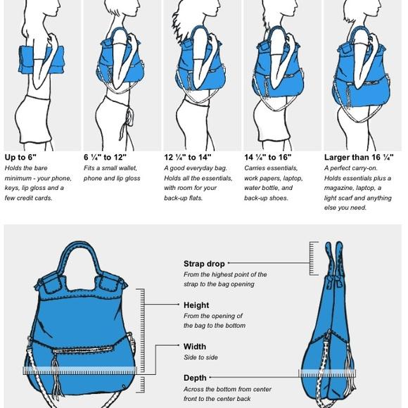 Bags Handbag Measuring Guide Poshmark
