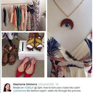 Accessories - Watch me on CBS LA talking Poshmark!