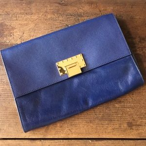 Badgley Mischka Handbags - Royal Blue Badgley Mischka Clutch