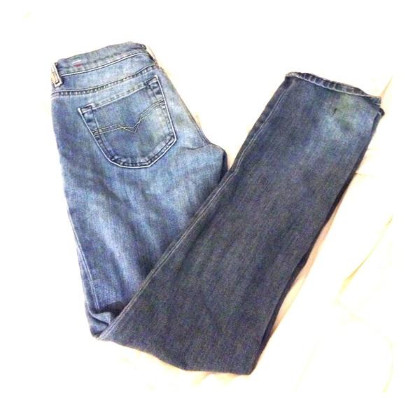Diesel Denim - Lightly Distressed Diesel Jeans