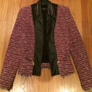 Zara Jackets & Blazers - Red tweed blazer