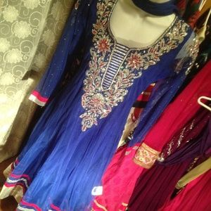 Very fancy indian dress salwar kameez anarkali