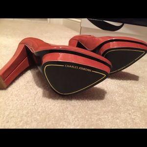 Charles Jourdan Shoes - 🆕👠 Charles Jourdan 'Elegant' Pumps Coral