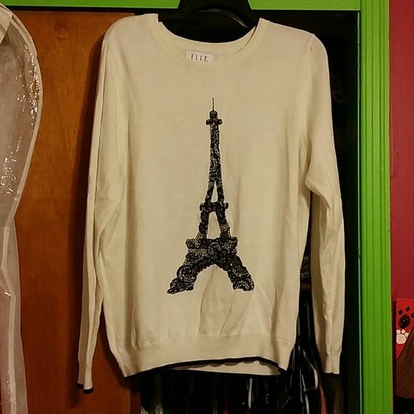 Elle Sweaters - Elle eiffel tower sweater.