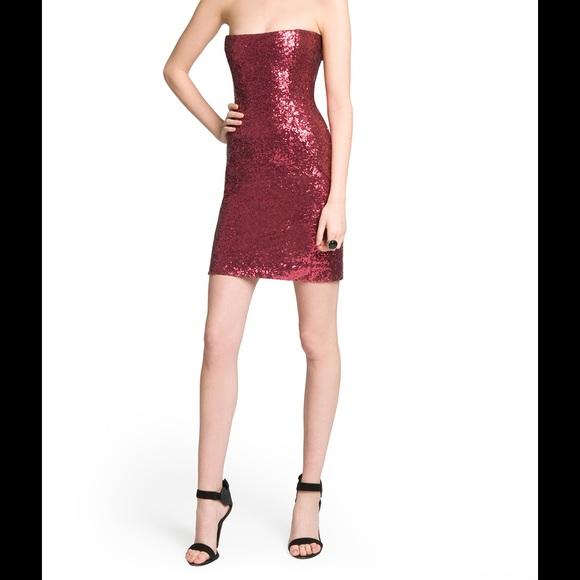 3b701e215d14 SALE Sparkly ruby red sequin cocktail dress. M_54e4b02d3c6f9f0e830062c8
