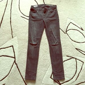 Lamb & Flag Denim - Gray skinny ankle jeans