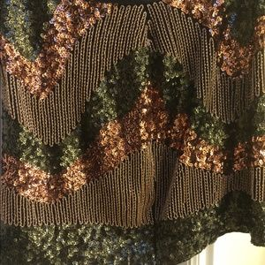 H&M sequin skirt