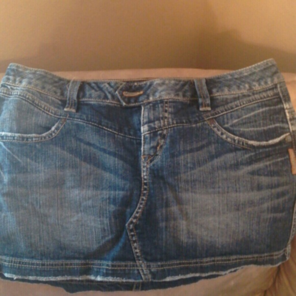 70% off Silver Jeans Denim - Silver jeans skirt. Used. Size 31 ...