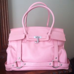 Authentic Juicy Couture Genuine Leather Large Tote