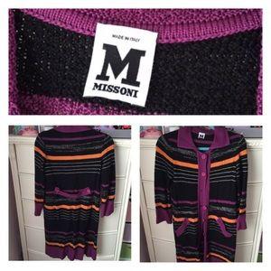 Missoni Rachel Zoe Cardigan Sweater Coat Jacket