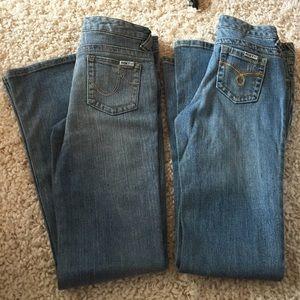 Roxy jeans BNWT size girls 14