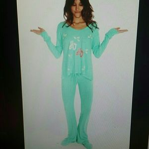 Wildfox hoho polar pajama set
