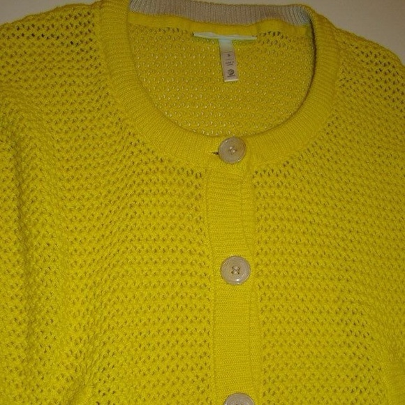 Adidas Neo Cardigan Neo Yellow Sweater Adidas
