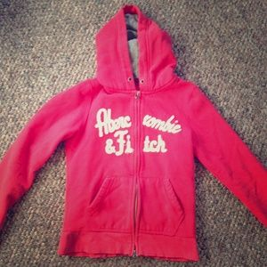 Medium Abercrombie and Fitch zip up hoodie