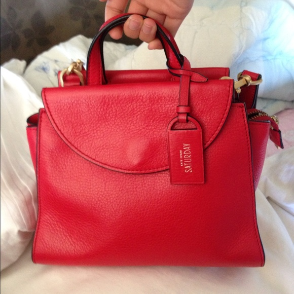 39% off kate spade Handbags - Kate spade Saturday cherry red mini ...