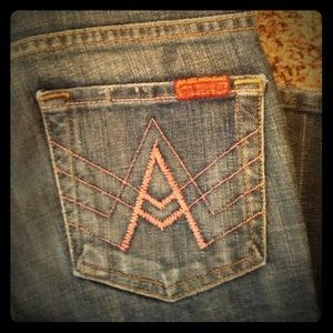 NWOT A-Pocket 7 For All Mankind Denim Jeans