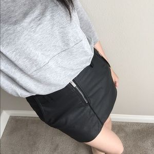 ⬇️CCO Zara Faux Leather Skirt