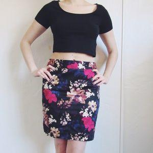 67 loft dresses skirts loft floral pencil skirt
