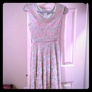 Dresses & Skirts - Mint and Pink Lace Dress