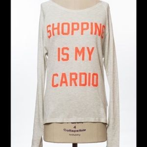 Cloud 9 Tops - 🆕Every girls mantra ~ Shopping is my Cardio NEW