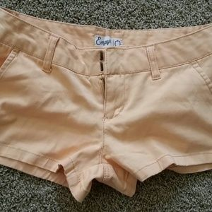 Orange Creamsicle Colored Empyre Shorts