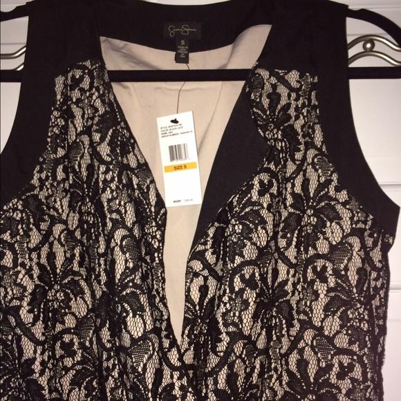 23080ff51 Jessica Simpson Pants | Trendy Sexy Black Lace Jumpsuit | Poshmark