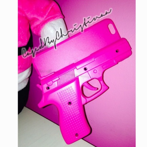 pretty nice db6a2 c580d NEW iPhone 6 Case : Pink Gun