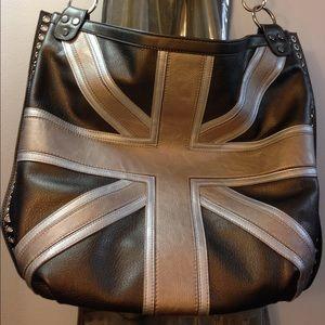 85e0222134ad Twiggy Bags - Closet Clear Out Sale!!!Union Jack Metallic Purse