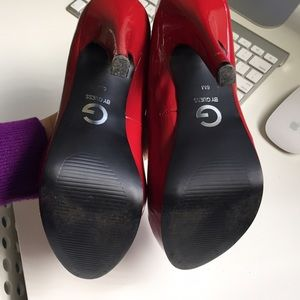 G by Guess Shoes - G by guess red pumps