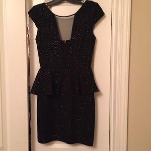 Little Black Sparkled Dress